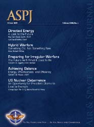 Air and Space Power Journal : Winter 200... Volume 23, Issue 4 by Cain, Anthony C.