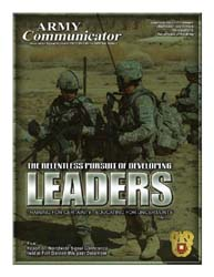 Army Communicator; Winter 2003 Volume 28, Issue 4 by Edmond, Larry