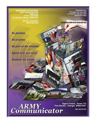 Army Communicator; Winter 2006 Volume 31, Issue 1 by Edmond, Larry