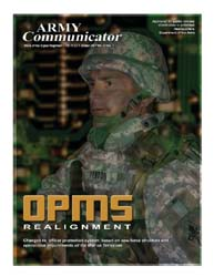 Army Communicator; Winter 2008 Volume 33, Issue 1 by Edmond, Larry