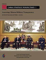 Assessing Chinese Military Transparency;... Volume China Strategic Perspectives 1; June 2010 by Kiselycznyk, Michael