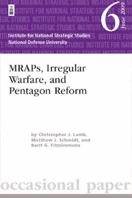 Mraps, Irregular Warfare, And Pentagon R... Volume June 2006 by Fitzsimmons, Berit G., Lamb, Christopher J., And S...