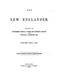 New Englander and Yale Review Volume 002... by W. L. Kingsley