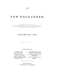 New Englander and Yale Review Volume 000... by W. L. Kingsley