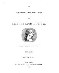 The United States Democratic Review Volu... by J. and H. G. Langley