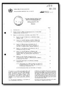 World Health Organization : Year 1987 ; ... by E. A. Carlini