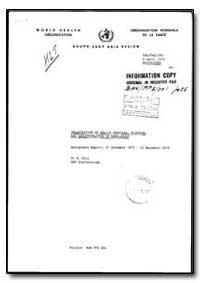 World Health Organization : Organisation... by M. Chia