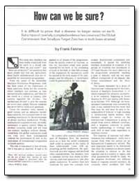 World Health Organization : Development ... by Frank Fenner