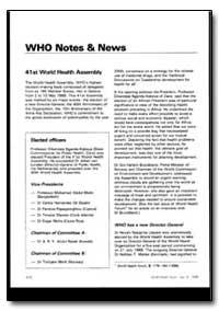 World Health Organization : World Health... by Hiroshi Nakaiima, Dr.