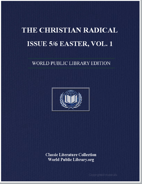 The Chrisitian Radical 1.05 Volume 1, Article 5 by New Hope Cw Farm