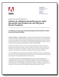Software de Administracion de Procesos d... by Adobe Systems