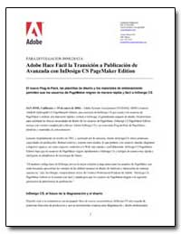 Adobe Hace Facil la Transicion a Publica... by Adobe Systems