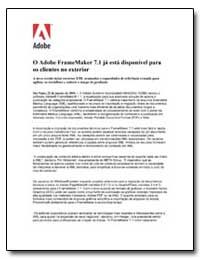 O Adobe Framemaker 7.1 Ja Esta Disponive... by Adobe Systems
