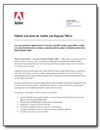 S£Bete a la Moto de Adobe Con Ingram Mic... by Adobe Systems
