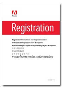 Registration Instructions and Registrati... by Adobe Systems