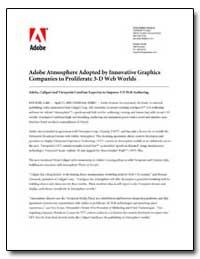 Adobe Atmosphere Adopted by Innovative G... by Adobe Systems