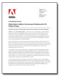 Defra Selects Adobe E-Government Solutio... by Adobe Systems