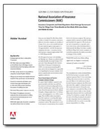 National Association of Insurance Commis... by Adobe Systems
