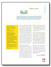 Bull International It Group Saves $1 Mil... by Adobe Systems