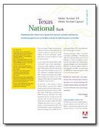 Texas National Bank : Community Bank Red... by Adobe Systems