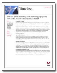 Time Inc. Speeds Publishing While Improv... by Adobe Systems