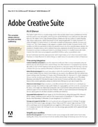 Adobe Creative Suite : At a Glance by Adobe Systems