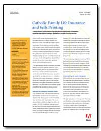 Catholic Family Life Insurance Improves ... by Adobe Systems