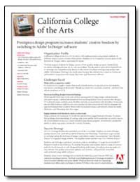 California College of the Arts : Success... by Adobe Systems
