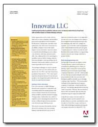 Innovata Llc : Leading Travel Products P... by Adobe Systems