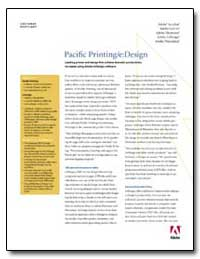 Pacific Printing/E : Design : Leading Pr... by Adobe Systems