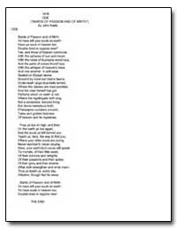 Ode (Bards of Passion and of Mirth) by Keats, John