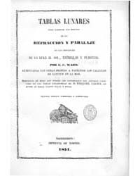 Biblioteca Digital Hispanica : Lunar Tab... by Ward, Ec