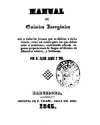 Biblioteca Hispanica : Inorganic Chemist... by Arbós, Tor, Jaime