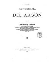 Biblioteca Hispanica : Monograph Argon by Prats, Aymerich, José