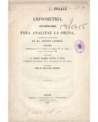 Biblioteca Digital Hispanica : Urinometr... by Muñoz Torres De Luna, Ramón