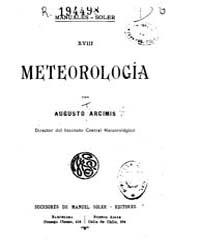 Biblioteca Digital Hispanica : Meteorolo... by Arcimis, Augusto T
