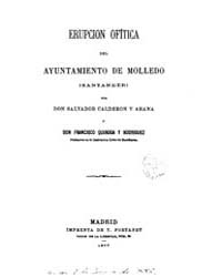 Biblioteca Digital Hispanica : Rash Moll... by Calderon; Arana, Salvador