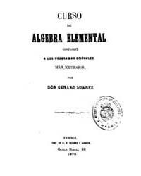 Biblioteca Hispanica : Elementary Algebr... by Suarez, Genaro