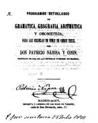 Biblioteca Digital Hispanica : Programs ... by Nájera; Cosin, Patrick