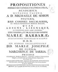 Biblioteca Digital Hispanica : Propositi... by Pontero Simon, Miguel De