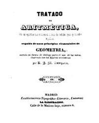 Biblioteca Hispanica : Treaty of Arithme... by Antequera, José María M.