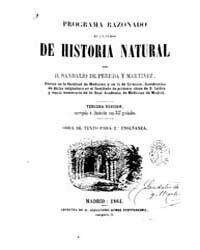 Biblioteca Digital Hispanica : Sciences ... by Pereda and Martinez, Sandalio of.