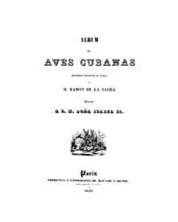 Biblioteca Hispanica : Album Cuban Birds by La Sagra, Ramon De