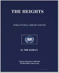 The Noble Koran (Quran) : The Heights by Transcribed  the Prophet Muhammad