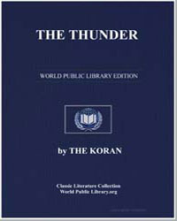 The Noble Koran (Quran) : The Thunder by Transcribed  the Prophet Muhammad