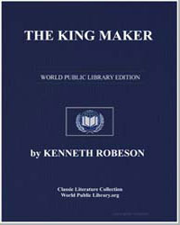 The King Maker by Stephens, Tom