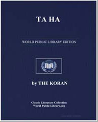 The Noble Koran (Quran) : Ta Ha by Transcribed  the Prophet Muhammad