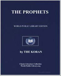The Noble Koran (Quran) : The Prophets by Transcribed  the Prophet Muhammad