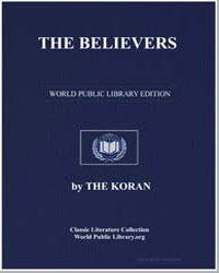 The Noble Koran (Quran) : The Believers by Transcribed  the Prophet Muhammad
