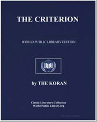 The Noble Koran (Quran) : The Criterion by Transcribed  the Prophet Muhammad